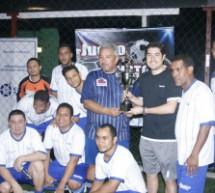 Juego Amistoso  de Futbol Sala,  entre la Superintendencia del Mercado de Valores de Panamá y la Cámara Panameña de Mercado de Capitales