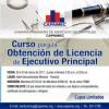 Curso para la Obtención de Licencia de Ejecutivo Principal