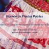 Horario de Fiestas Patrias 2018