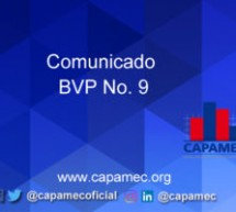 Comunicado BVP No. 9