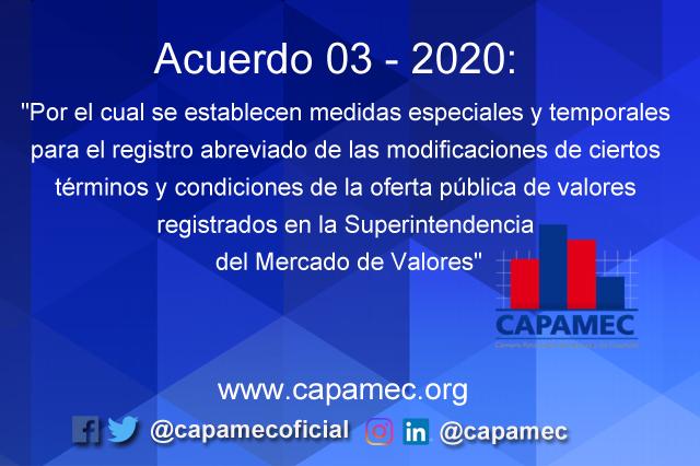 Acuerdo 03 – 2020
