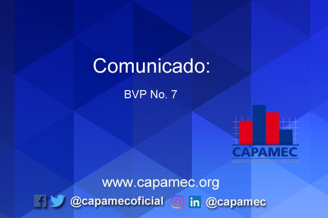 Comunicado BVP No. 7