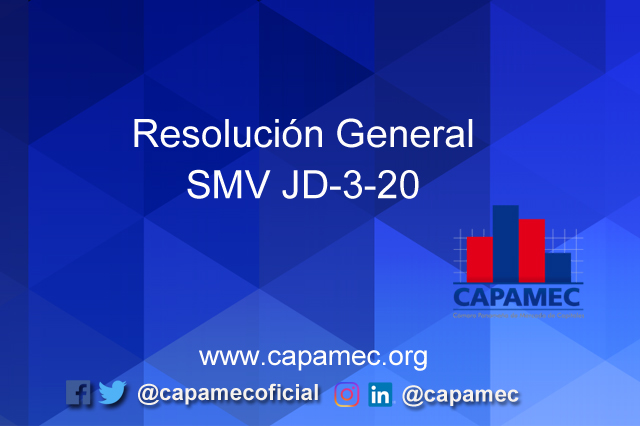 Resolucion General SMV JD-3-20