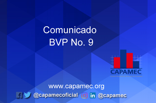 Comunicado BVP No. 9