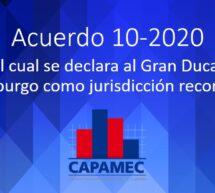 Acuerdo 10 – 2020