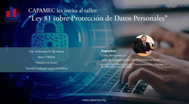 Taller «Ley 81 sobre Protección de Datos Personales»