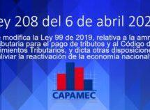 Ley 208 del 6 de abril 2021