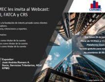 CAPAMEC les invita al Webcast:  QI/NQI, FATCA y CRS