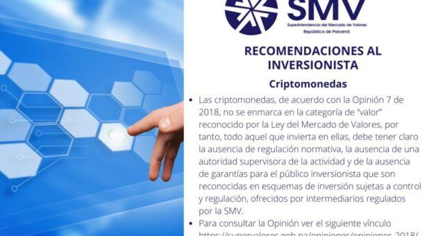 Recomendaciones al Inversionista – Criptomonedas