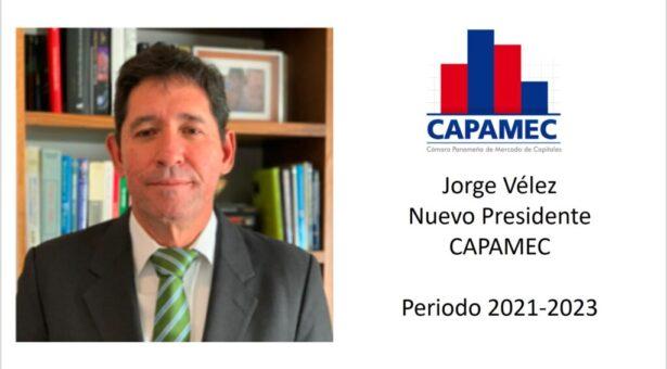 Jorge Vélez nuevo presidente de Capamec